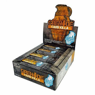 Grenade Carb Killa Protein Bars - Low Carb & Sugar - High Protein - All Flavours