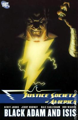 Justice Society of America Black Adam and Isis HC (DC) #1-1ST 2009 NM