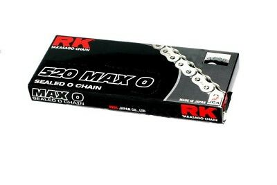 RK 525 Max-O Chain 130 Links Gold