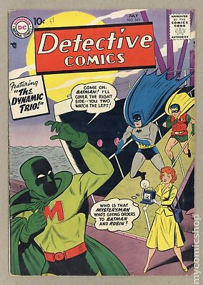 Detective Comics (1st Series) #245 1957 VG 4.0 RESTORED