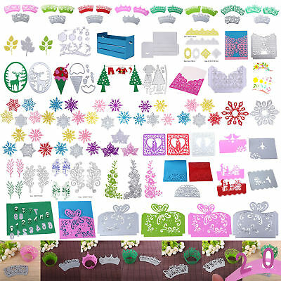 DIY Cutting Dies Stencil Scrapbook Photo Album Paper Card Embossing Craft Decor