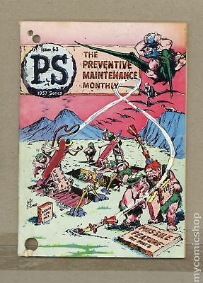 PS The Preventive Maintenance Monthly #63 1958 VG- 3.5