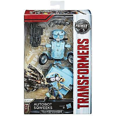 Transformers The Last Knight Premier Edition Deluxe Sqweeks