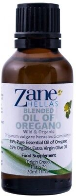 ZANE HELLAS Wild Pure Greek Essential Oil of Oregano with 86 Percent Minimum -