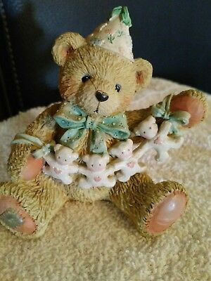 """Cherished Teddies AGE 4 """"Unfolding Happy Wishes Four You""""   Collectible 911305"""
