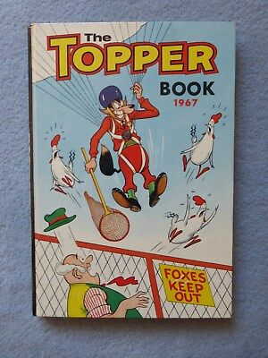 The Topper Book 1967 Annual in Good Condition