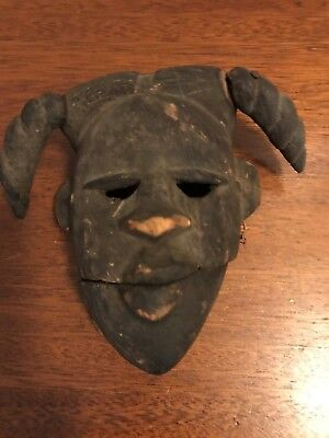 19Th Rare And Unusual African Mask