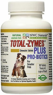 NWC Naturals Total-Zymes® Plus Combo for smaller pets 90 Tablets - UK Stock