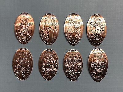 Frozen 8-Design Pressed Pennies Set WDW Hollywood Studios