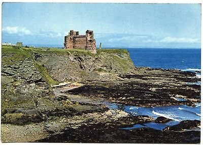 Postcard Tantallon Castle North Berwick Scotland Unused