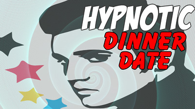 Hypnotic Dinner Date with Elvis a Fun Hypnosis Experience DVD