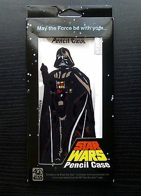 Star Wars 40th Anniversary 2017 Retro Helix Vintage Darth Vader Pencil Case MIB