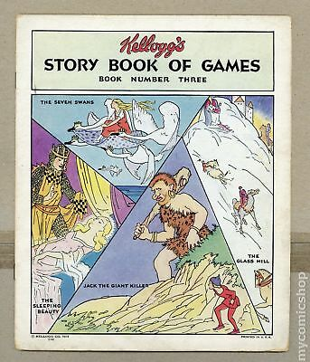 Kellogg's Story Book of Games #3 1931 GD+ 2.5