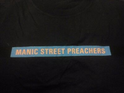 Manic Street Preachers Vintage Tour Shirt 1998 Official Item RARE INTIMATE DATES