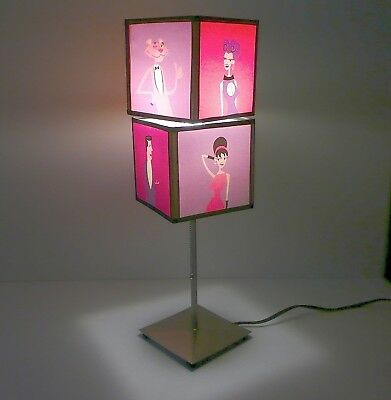 Pink Panther - SHAG Art - Table Lamp - Limited Edition PP 40th Anniversary- RARE