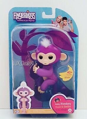 New Authentic WowWee Fingerlings Monkey (Mia) Electronic Interactive