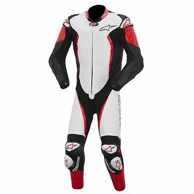 Alpinestars GP Tech 2015 1-Piece Leather Suit White/Black/Red