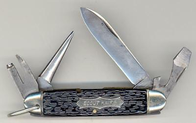 Old Federal Knife Company Syracuse Boy Scout Utility Knife Camillus Cutlery Co