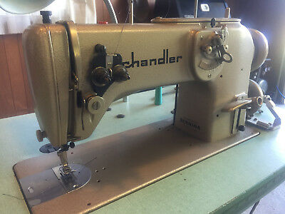 Bernina 217, 1-Needle, ZigZag, Industrial Sewing Machine, 110V