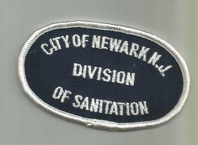 Vintage City Of Newark Nj Division Of Sanitation Sewer Garbage Patch Unsewn
