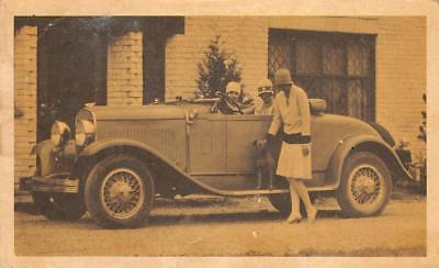 1929 CHRYSLER ROADSTER Model 75 Vintage Automobile Classic Car Postcard