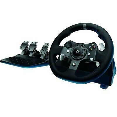 Logitech G920 Driving Force Racing Wheel for Xbox One & PC (Free Delivery)