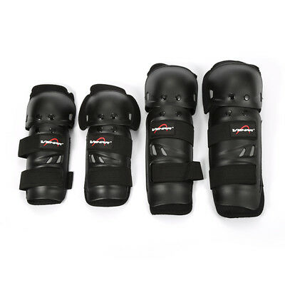 4pcs Off Road Racing Peewee Knee/Shin Guards Motocross Youth/Kids/Child/Aldut