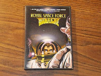 Royal Space Force - The Wings of Honneamise (DVD, 2000)