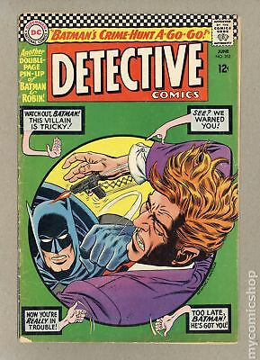 Detective Comics (1st Series) #352 1966 GD+ 2.5 Low Grade