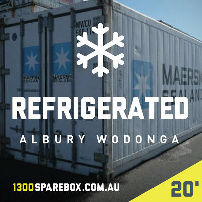 20Ft Refrigerated Shipping Containers - Albury Wodonga