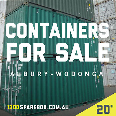 Quality Shipping Containers - 20Ft New Builds - Albury Wodonga