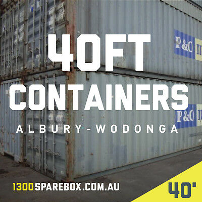 40Ft Used Shipping Containers For Sale - Albury Wodonga
