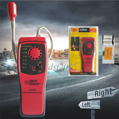 SMART SENSOR AS8800L Combustible Gas Detector Gas Leakage Determine Tester Tool