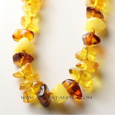 Genuine Authentic Baltic Amber Child Necklace