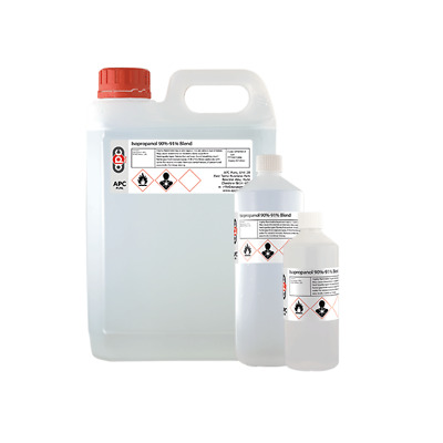 **OFFER** ISOPROPYL 90-91% RUBBING ALCOHOL ISOPROPANOL 30ml - 2.5L (I*99)