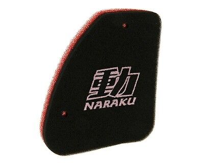 Air Filters Insert Naraku Double Layer For Scooter PEUGEOT Elystar 50