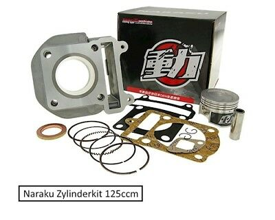 Zylinder Kit 125ccm Naraku for Yamaha and MBK SCOOTER WITH 4CW Motor