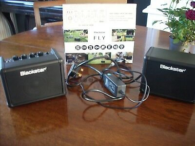 Blackstar Fly 3 Stereo Pack - Battery/mains Mini Guitar Amp And Mp3 Player