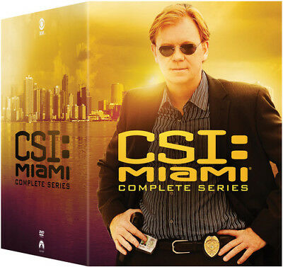Csi: Miami - The Complete Series - 65 DISC SET (REGION 1 DVD New)