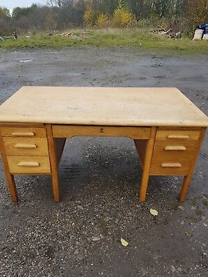 vintage desk/school teachers desk
