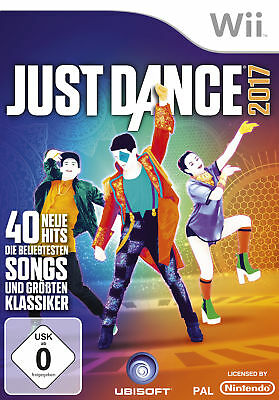 Just Dance 2017 - Nintendo Wii (NEU & OVP!)