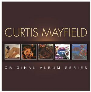 CURTIS MAYFIELD 5CD NEW Curtis/Live/Roots/Back To The World/Sweet Exorcist