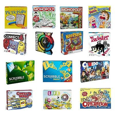 Various Board Game Toy Monopoly Scrabble Connect 4 Operation Twister Pictionary