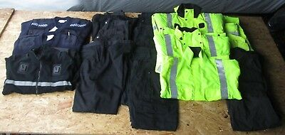 Job Lot Of Police Clothing Hi Vis Gore-Tex Jacket Pullovers Wholesale AUCTION