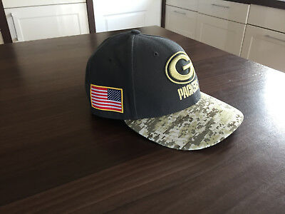 Salute to Service, Green Bay Packers, New ERA BaseCap 2016