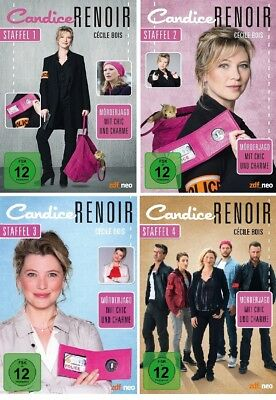 13 DVDs * CANDICE RENOIR - STAFFEL / SEASON 1 + 2 + 3 + 4 IM SET # NEU OVP &