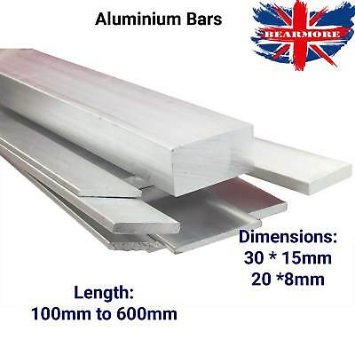 Rectangle Aluminium Bar Aluminum Stock Mechanical Multiple Length Milling