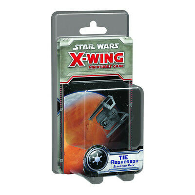 X-Wing Miniatures Game TIE AGGRESSOR Expansion Pack FFG SWX66 brand new sealed