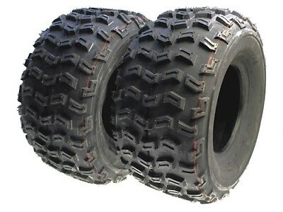 2x Off-road tyres all-terrain tyres Quad 20x10-9 20x10.00-9 M + S for Yamaha YFM