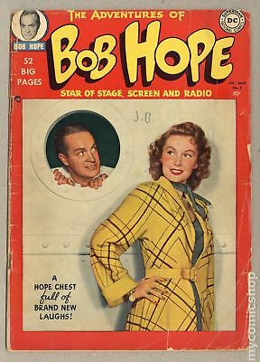 Adventures of Bob Hope #2 1950 GD- 1.8